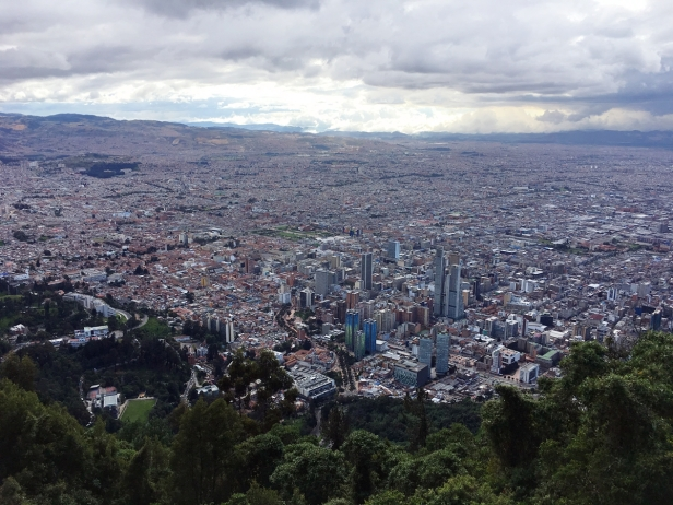 vista Cerro de Monserrate